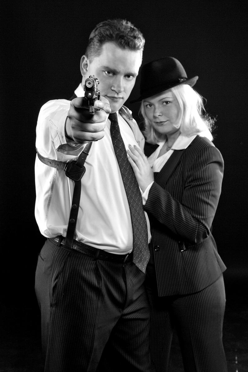 Как одевались гангстеры 30 х годов
